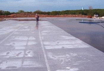 آوری بتن با استفاده از پوشش خیس اشباع - عمل آوری یا کیورینگ بتن - 7
