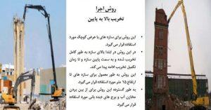 روش های تخریب ساختمان - 3