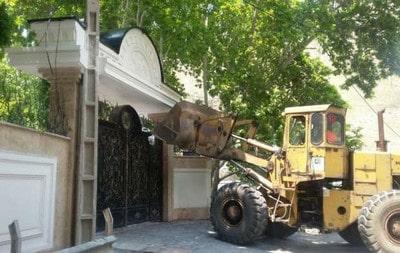 ساختمان غیرمجاز - عملیات تخریب ساختمان - 9