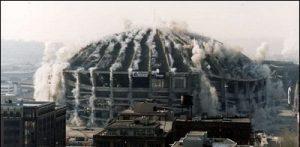 های تخریب ساختمان تخریب به روش انفجار - 3