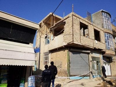 و ساز غیرمجاز - عملیات تخریب ساختمان - 7