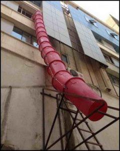 در تخریب ساختمان 1 - 3