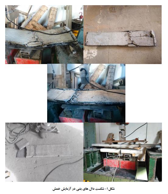1 شکست دال بتنی - تقویت دال بتنی با استفاده از الیاف کامپوزیت کربن - 5