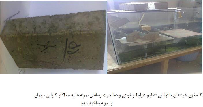 شیشه ای - تهیه بتن سبک با استفاده از الیاف کاغذ روزنامه باطله - 3